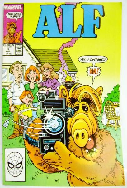 Alf - Comic Book - Marvel Star Comics #2