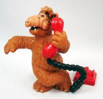 ALF - Figurine PVC Bully - Alf au téléphone