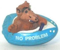 ALF - Pvc figure Bully - blue boat