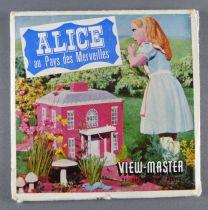 Alice au Pays des Merveilles - Pochette de 3 View Master 3-D