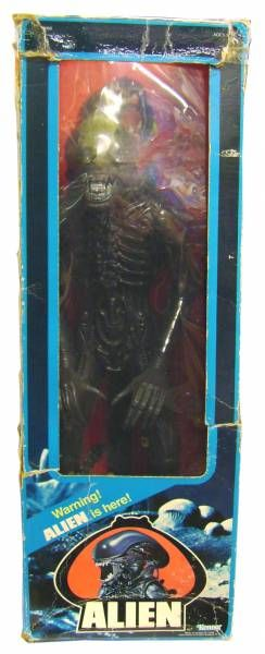 Alien  - Kenner 1979 - 17\'\' Alien (loose in box)