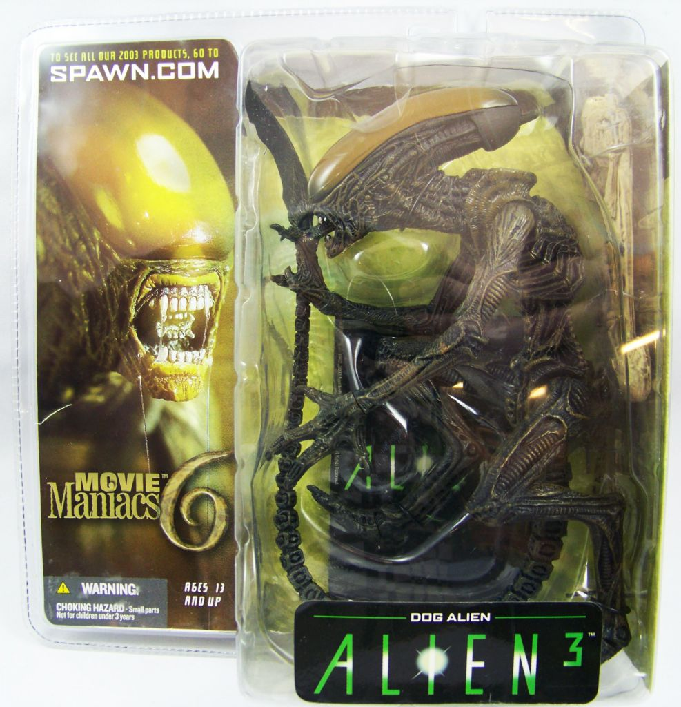 Alien 3 - McFarlane Toys Movie Maniacs 6 - Dog Alien 01