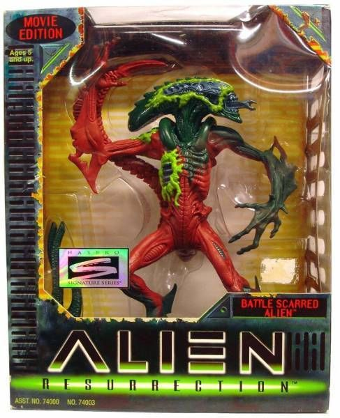 Alien Resurrection - Hasbro - Battle Scarred Alien