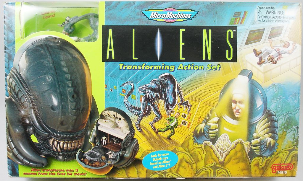 Aliens - Galoob - Micro Machines Aliens Transforming Action Set