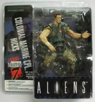 Aliens - McFarlane Toys Movie Maniacs - Colonial Marine CPL. Hicks