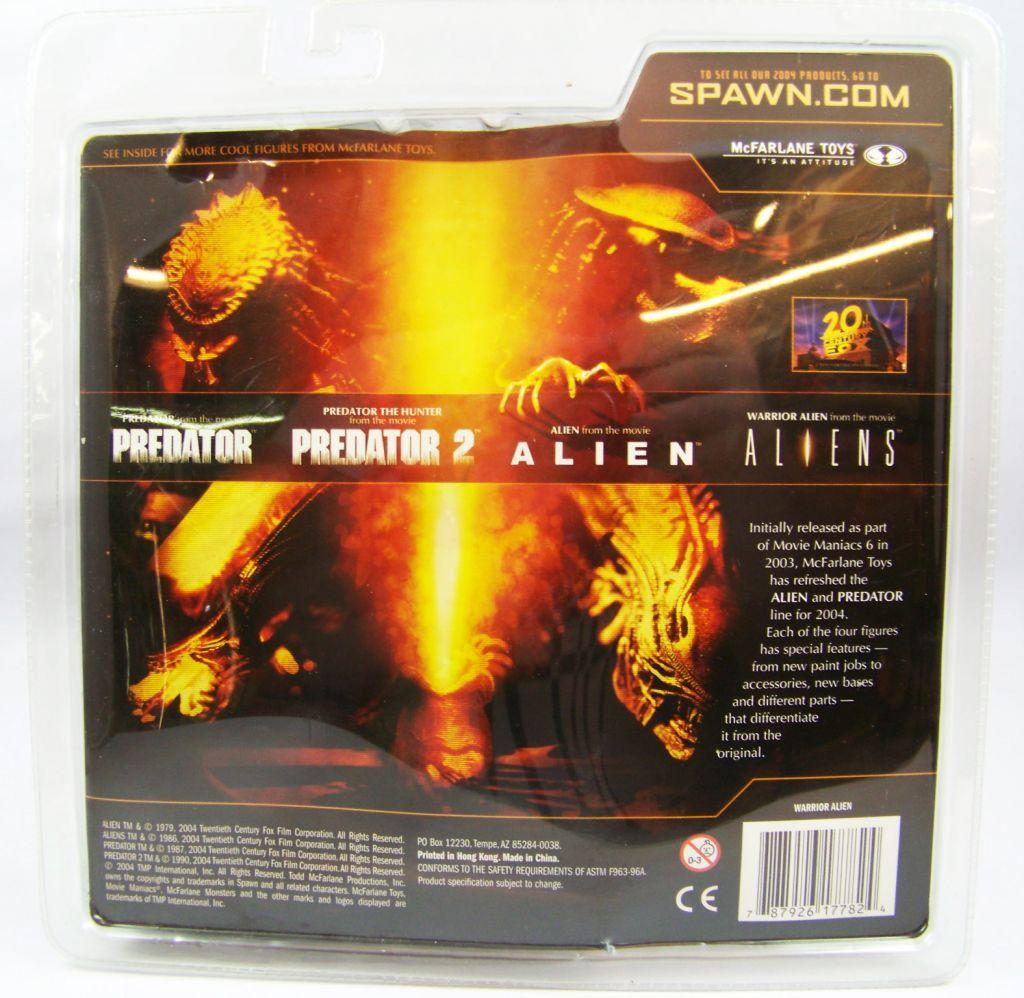 Aliens - McFarlane Toys Movie Maniacs 6 - Alien Warrior 02
