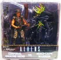 Aliens - NECA - Corporal Dwayne Hicks & Xenomorph Warrior