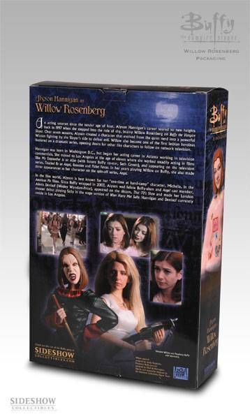 Alyson Hannighan as Willow Rosenberg - Sideshow Toys 12 inches (mint in box))