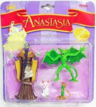Anastasia - Galoob/Lansay - Figurine articulée - Raspoutine et Bartok
