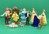 Anastasia - Galoob-Lansay - Série de 12 figurines PVC 01