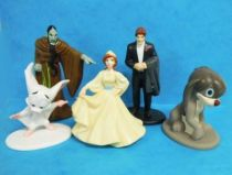 Anastasia - PVC Figures - Set of 5 Shell Oil premium figures