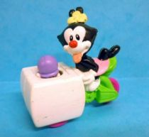 Animaniacs - McDonald\\\'s Premium Figure - Dot riding an Ice Cream Wagon