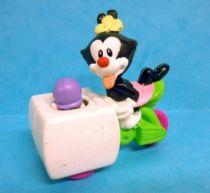 Animaniacs - McDonald\\\'s Premium Figure - Dot riding an Ice Cream Wagon