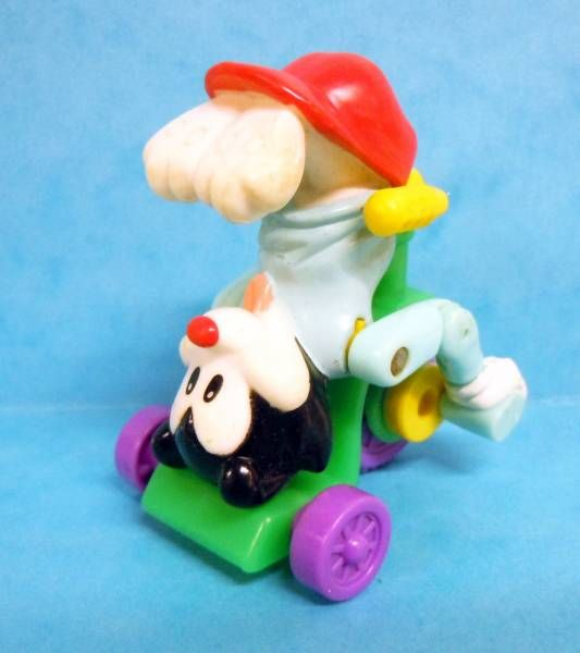 Animaniacs - McDonald\\\'s Premium Figure - Wakko riding upside down on tricycle