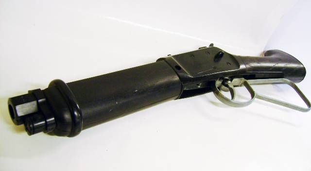 anted Dead or Alive - Josh Randall\'s Winchester - Firecracker Plastic Rifle - Marx Toys