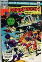 Archie Adventure Series Comics - Mantech Robot Warriors #1
