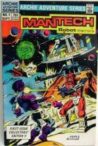 Archie Adventure Series Comics - Mantech Robot Warriors #1