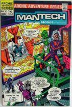 Archie Adventure Series Comics - Mantech Robot Warriors #2