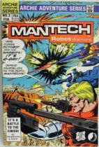 Archie Adventure Series Comics - Mantech Robot Warriors #3