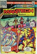 Archie Adventure Series Comics - Mantech Robot Warriors #4
