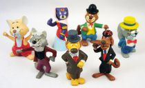Around The World In 80 Days - Maia Borges M+B Pvc Figures complete set
