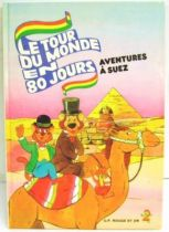 Around The World In 80 Days - Story book G. P. Rouge et Or A2 edition - Around The World In 80 Days: Adventures in Suez