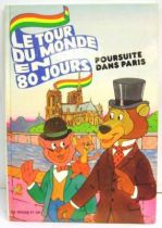 Around The World In 80 Days - Story book G. P. Rouge et Or A2 edition - Around The World In 80 Days: Race in Paris