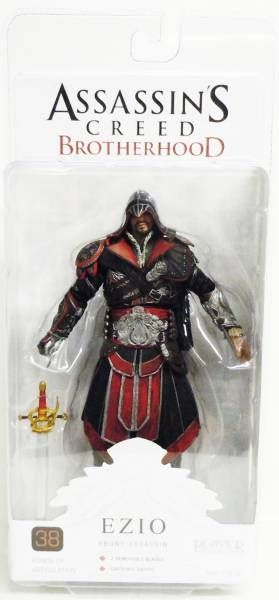 Assassin\'s Creed Brotherhood - Ezio Ebony Assassin - NECA Player Select figure