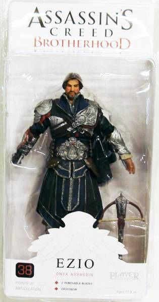 Assassin\'s Creed Brotherhood - Ezio Onyx Assassin - NECA Player Select figure