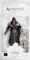 Assassin\'s Creed Brotherhood - Ezio Onyx Assassin (hooded) - Figurine Player Select NECA