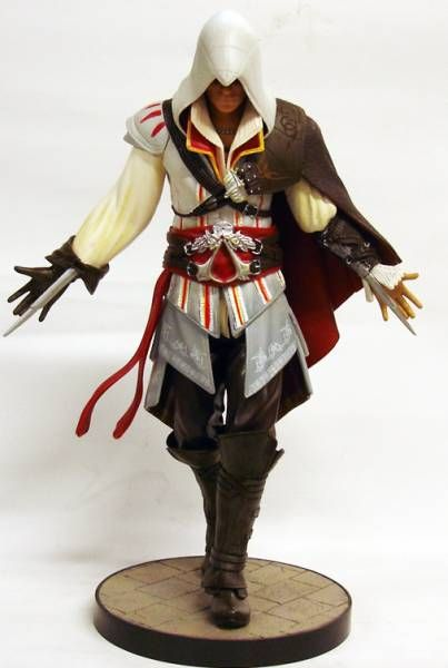 Assassin\'s Creed II - Ezio Auditore - Ubisoft Attakus 8\'\' pvc statue
