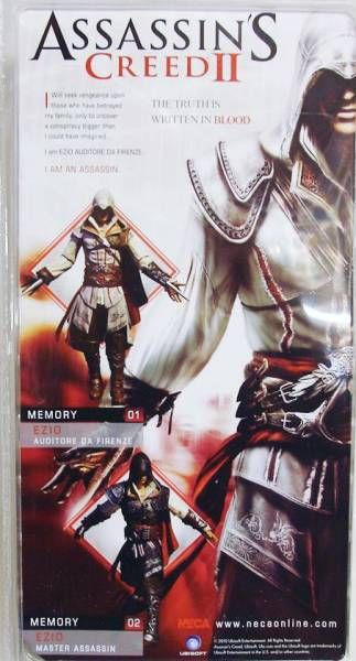 Assassin\'s Creed II - Ezio Master Assassin - NECA Player Select figure
