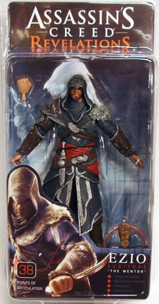 Assassin\'s Creed Revelations - Ezio Auditore The Mentor - NECA Player Select figure