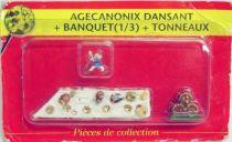 Asterix - ATLAS Editions - Gaul\'s village - #10 : Dancing Geriatrix + banquet + barrels