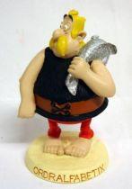 Asterix - Atlas Plastoy - Resine figures - Ordralfabetix