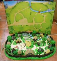 Asterix - Editions ATLAS - Le Village d\'Asterix (Complet)