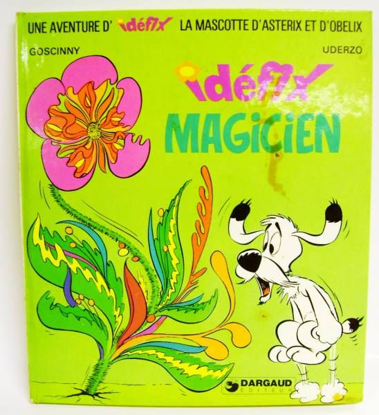 Asterix - Illustrated book - Idéfix Magician - Dargaud Editeur 1974