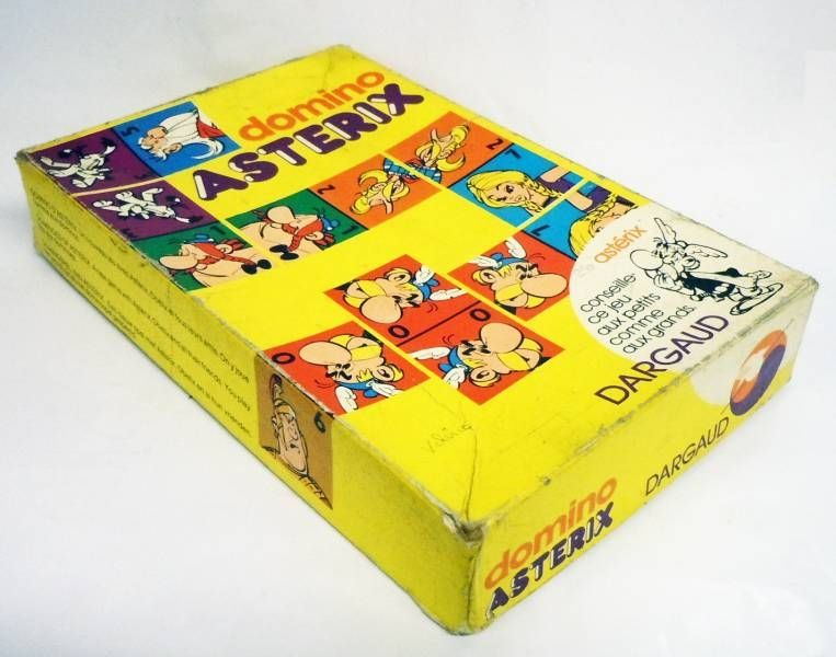 Asterix - Jeu de Domino - Editions Dargaud 1974