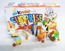 Asterix - Kinder Suprise (Ferrero) 2009 - Premium Figure - Set of 8 Premium Figures Asterix\'s 50th Birthday