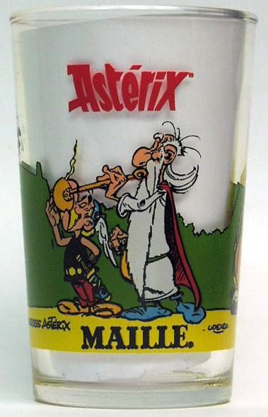 Asterix - Mustard glass Maille - n°1 the magic potion