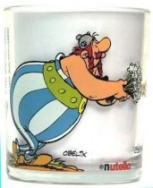 Asterix - Nutella glass - Obelix, Cleopater, Caesar