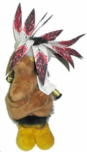 Asterix - Plush 1994 Indian chief