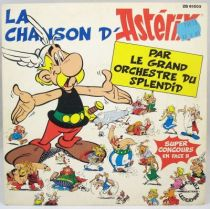 Asterix - Disque 45T La Chanson d\'Astéris par le Grand Orchestre du Splendid