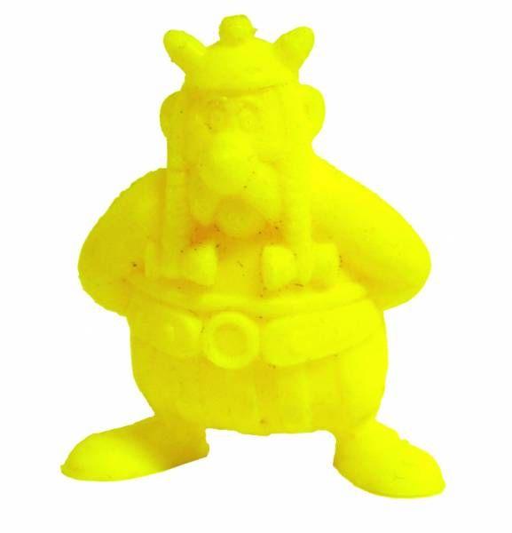 Asterix - Uni Lever (Malabar/Motta) 1980-84 - Monochromic Figure - Obelix (Yellow)