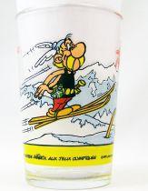 Asterix - Verre Maille - Jeux Olympiques n°1 Le Saut à Ski