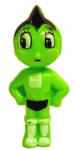 Astro Boy - 3\'\'3/4 Candy container (green)