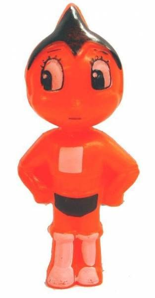 Astro Boy - 3\'\'3/4 Candy container (orange)