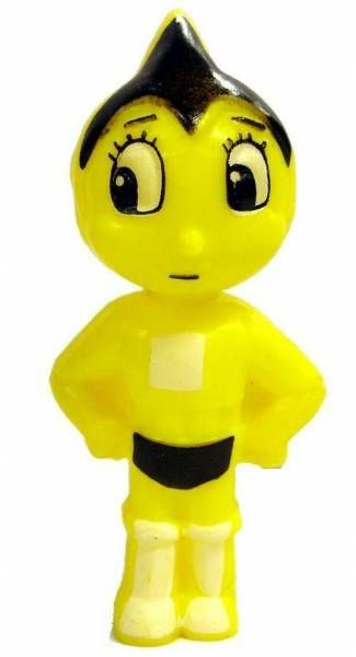 Astro Boy - 3\'\'3/4 Candy container (yellow)