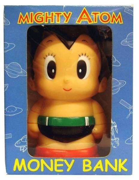 Astro Boy - 4\\\'\\\' Vinyl bank  - Mint in Box