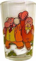 Astro Boy - Amora Mustard glass (Astro Boy & Urania flyings/Pr Caudrine & Mr Morse)